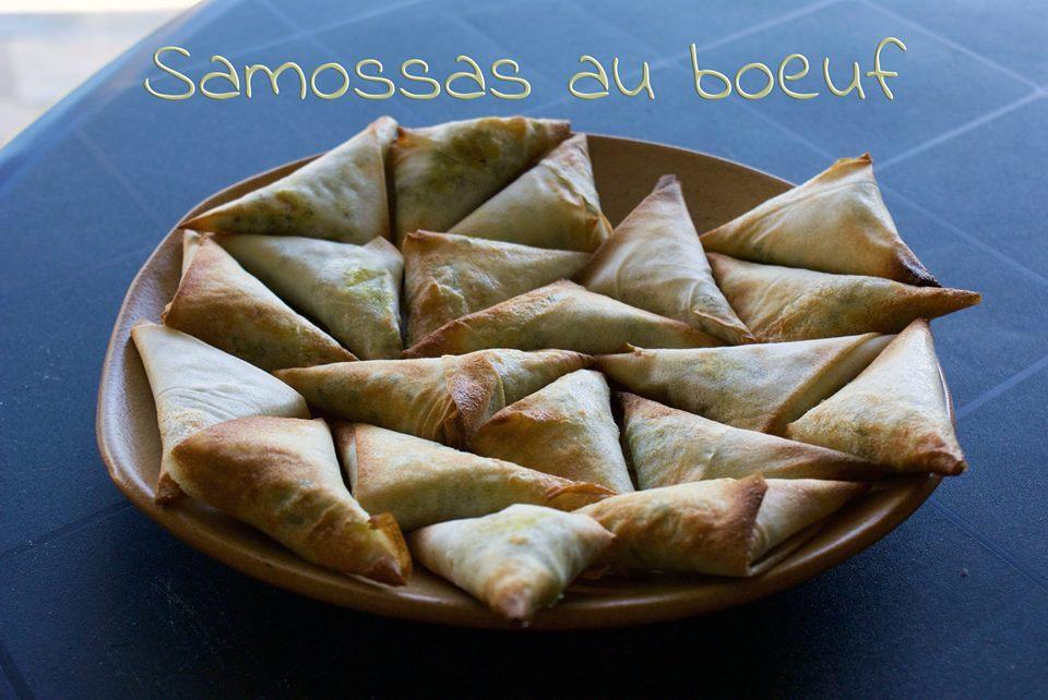Samossas boeuf