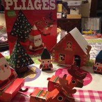 Pliages de Noël